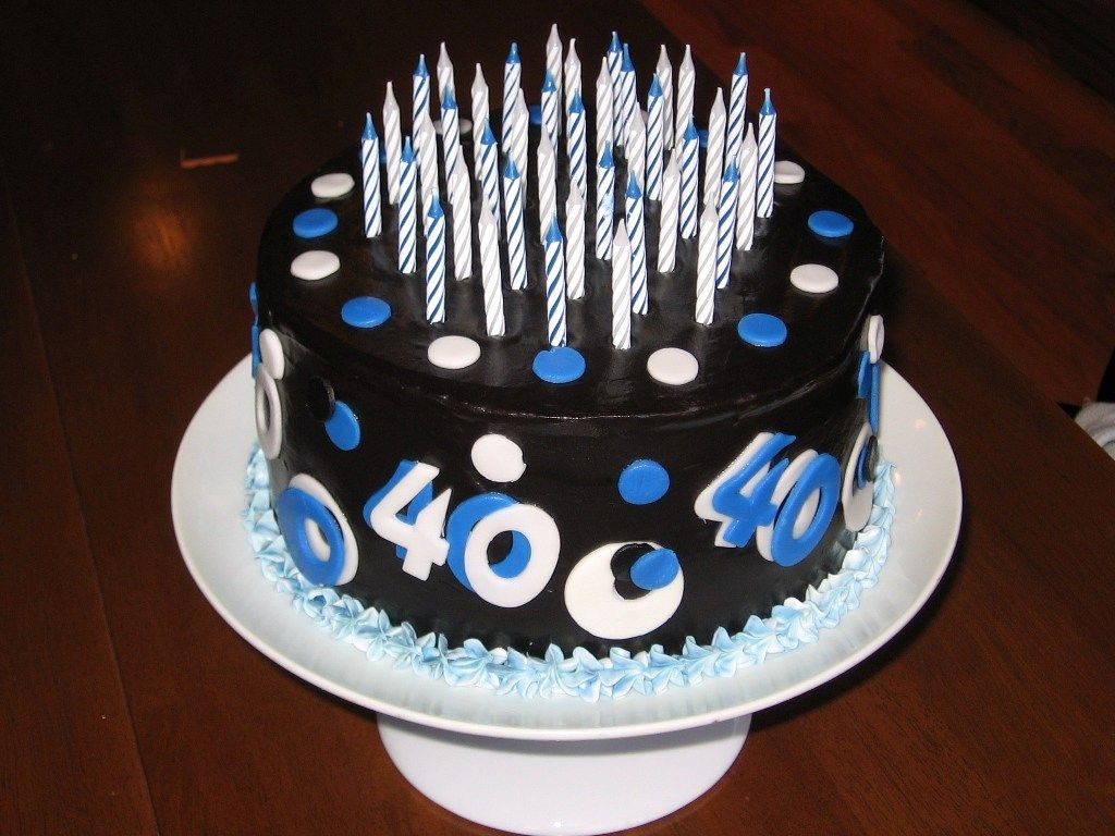 40th Birthday Cake Ideas For Men S His 40th Bday Ideas