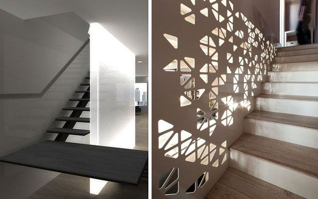 Ideas para decorar escaleras con luz stairs for Decoracion escaleras