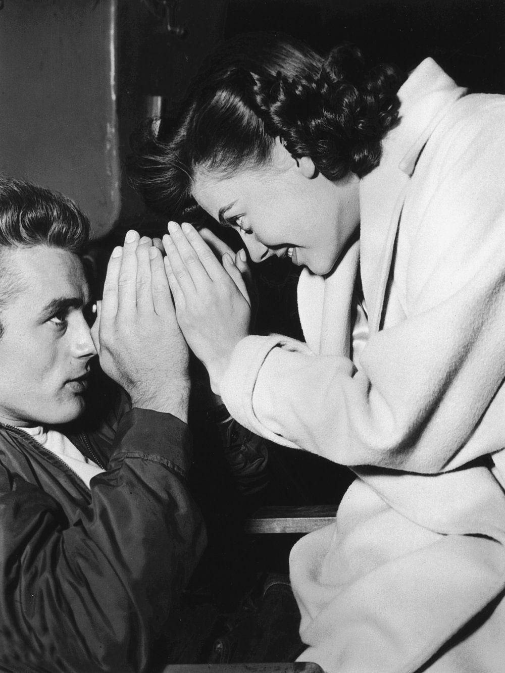James Dean And Audrey Hepburn Together