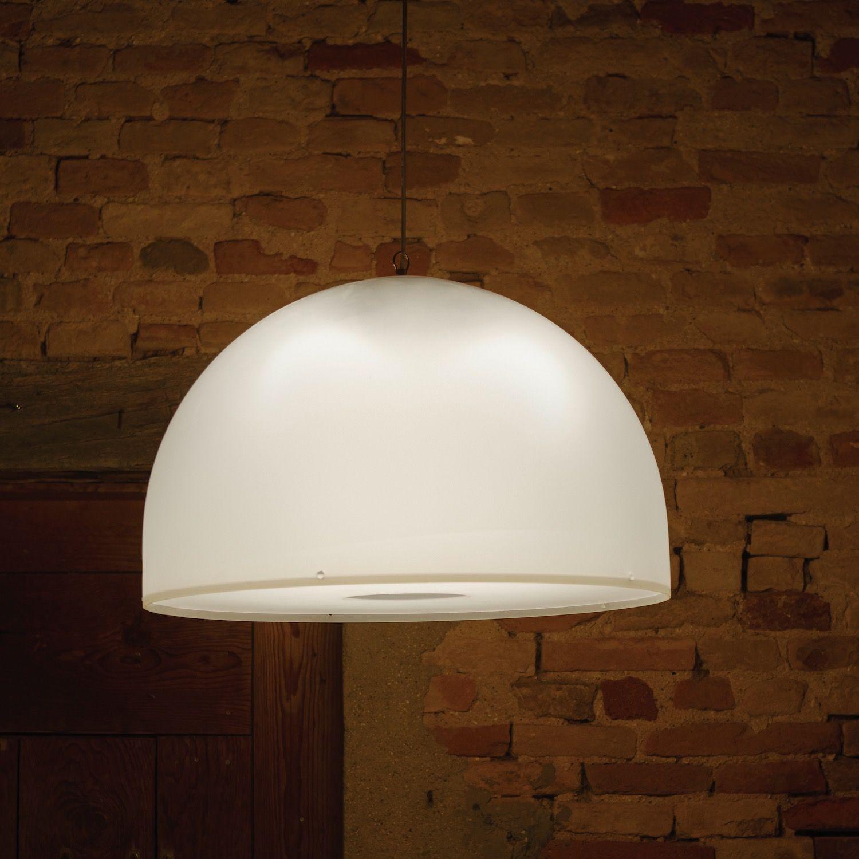 Lampadari A Cupola Moderni.Lampada A Sospensione In Plexiglass O62 Cm Brunella Brunella
