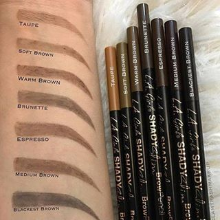e2670c31e8a Bildresultat för la girl shady slim brow pencil | Makeup | Eyebrow ...
