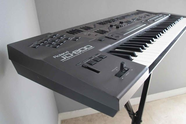 MATRIXSYNTH: Roland JD-800 Synthesizer with Accordion Sound