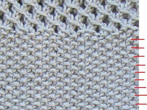 compter les rangs point de riz tricot pinterest tricot et crochet tricot point de riz et. Black Bedroom Furniture Sets. Home Design Ideas