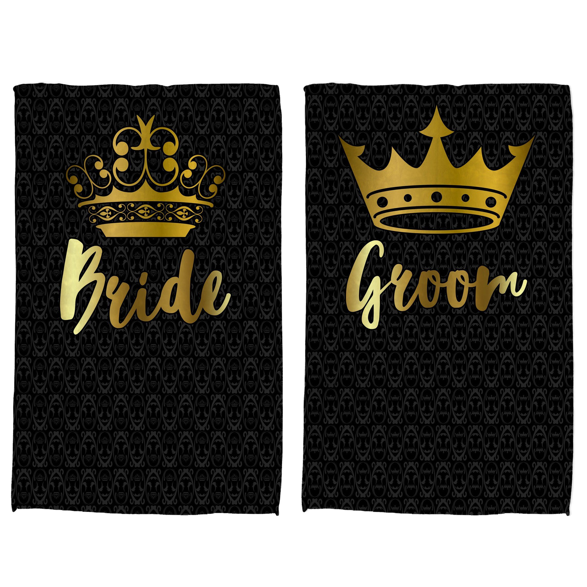 Bride And Groom Honeymoon Gifts Wedding Towel For Him Her