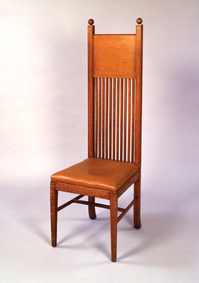 The Architect As Furniture Designer Side Chair Frank Lloyd Wright 1895