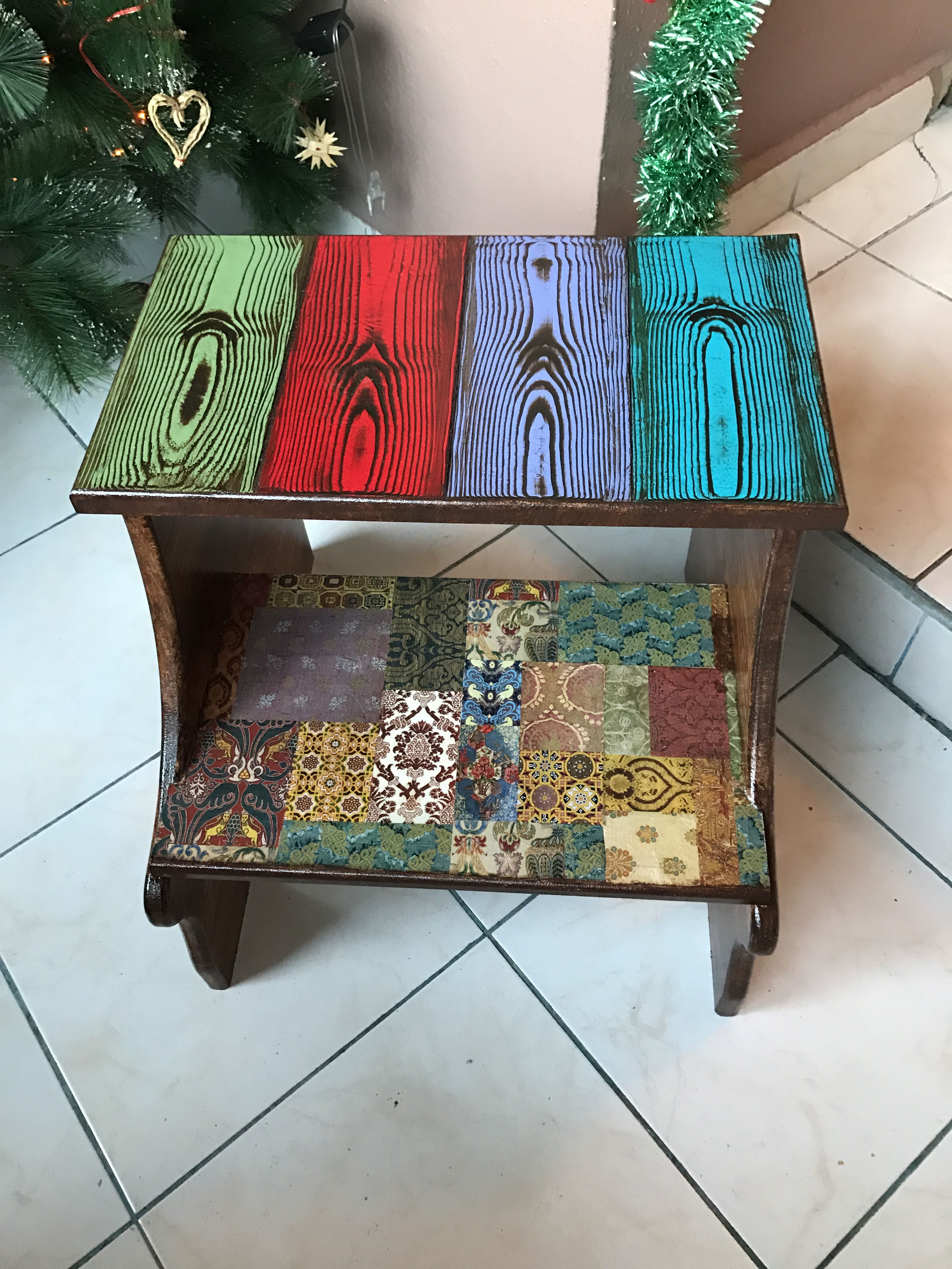 decoupage ideas for furniture. Wood Pallet Crafts, Projects, Paintings, Decoupage Ideas, Furniture Restoration, Upcycling Paint Furniture, Ideas For