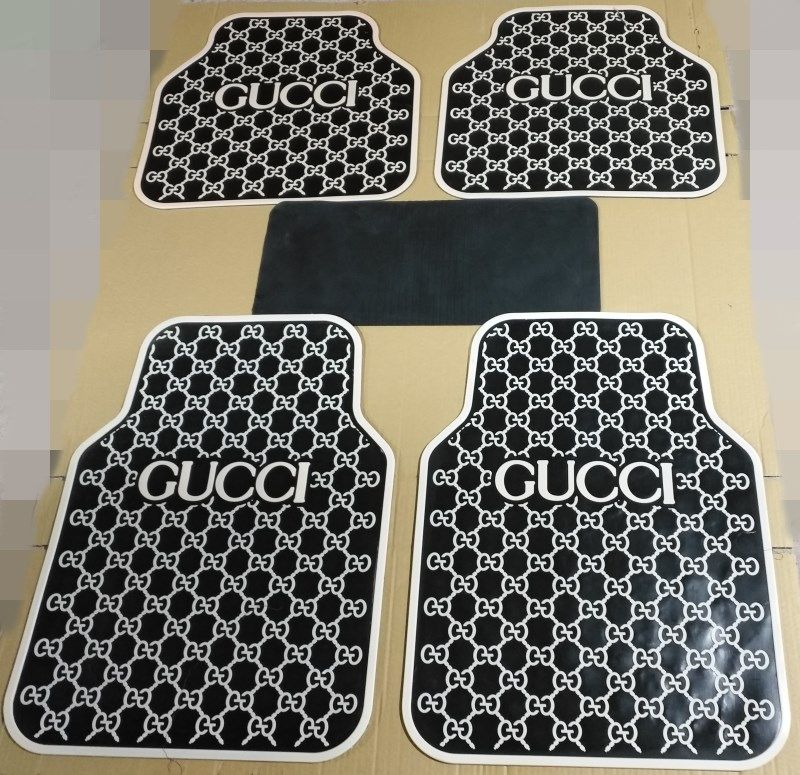 Vinyl Floor Mat Durable Soft And Easy To Clean Ideal: $155.32 Cool Gucci Genenal Automotive Carpet Car Floor