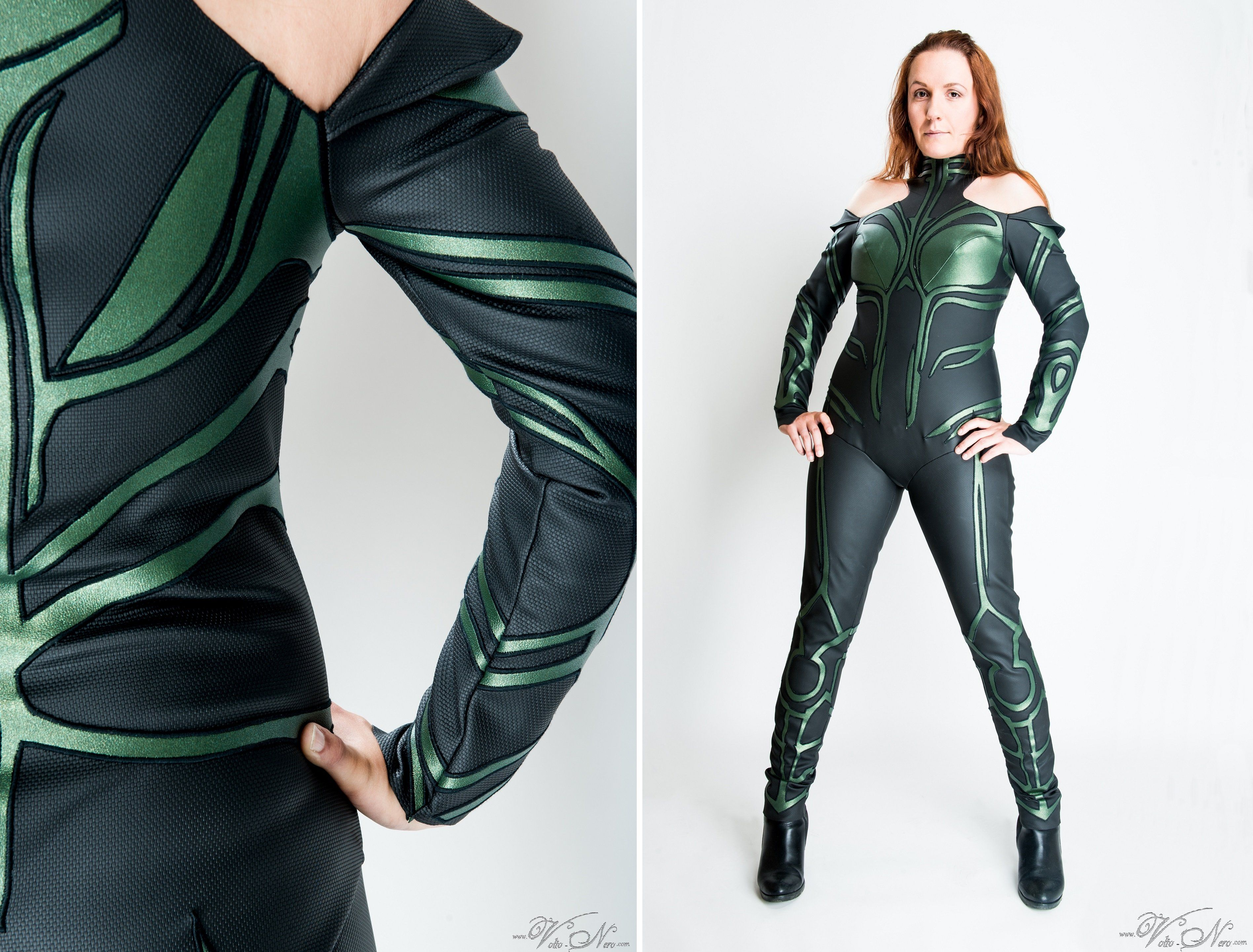 Hela Costume Thor Ragnarok Marvel Cinematic Universe Cosplay Suit