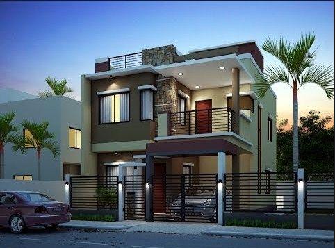 New House Exterior Design 2 Storey House Design House