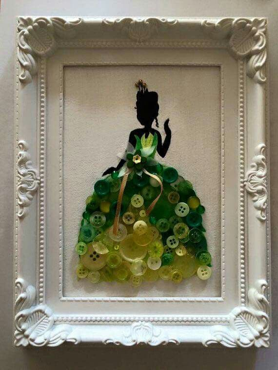 Use Buttons On Silhouette Crafts Fun Diy Art