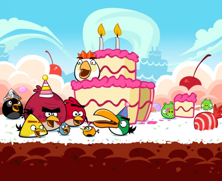 Открытки на день рождения мальчику энгри бердз, днем мамы анимационные