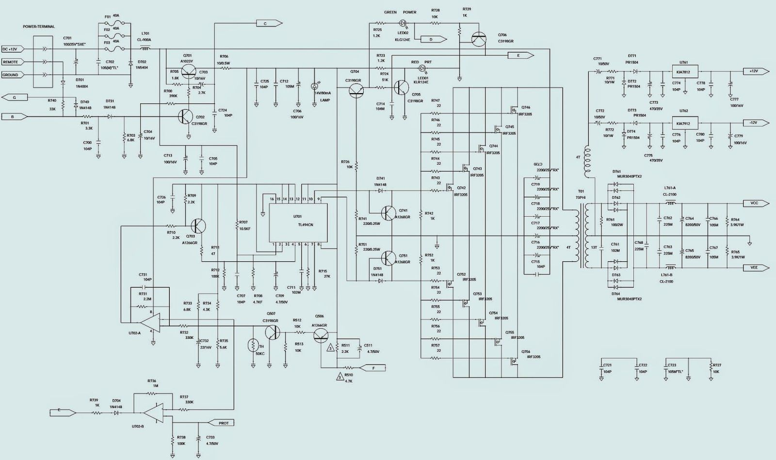 small resolution of jbl bp1200 1 car amplifier schematic circuit diagram within wiring jbl bp 1200 sub wiring diagram