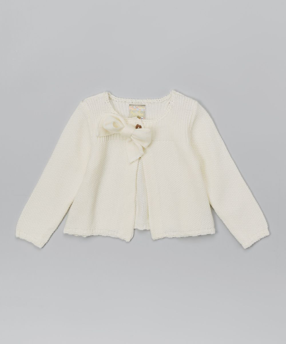 0974375a3 Ivory Bow Sweater - Toddler