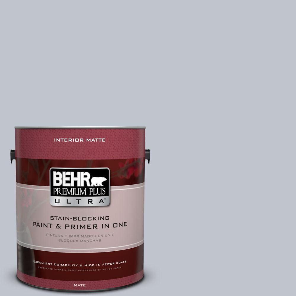 Behr Ultra 5 Gal N540 2 Glitter Color Flat Exterior Paint And Primer In One 485005 The Home Depot Behr Premium Plus Ultra Interior Paint Behr