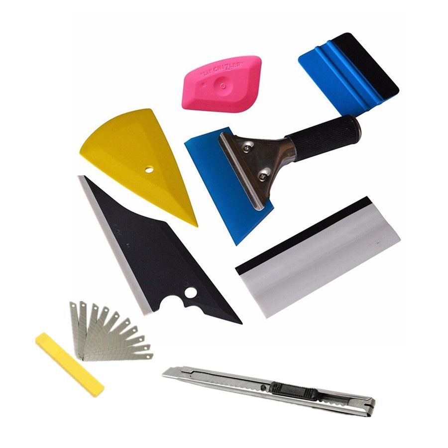 8 pcsset squeegee car window tinting auto film wrapping