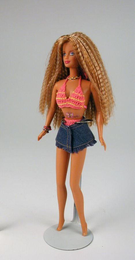 103.3495: Butterfly Art Tattoo Barbie | doll | Barbie ...
