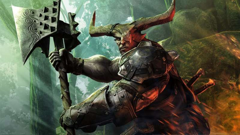 Dragon Age Inquisition Wallpaper Or Background 07 Dragon Age Inquisition Dragon Age The Iron Bull