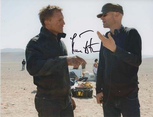 Marc Forster 007 James Bond Authentic Autograph Director Quantum