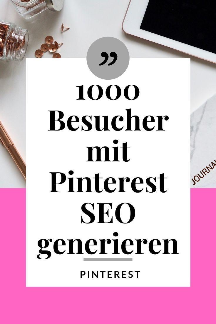 Wie du Pinterest für dein Business benutzt - Mehr Traffic ...