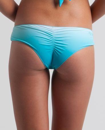 3da53fe7db ISLAND GIRL BOOTY BRIEF    swimming pool blue - Cheeky ombre bikini bottom.--I  LOVE BLUE