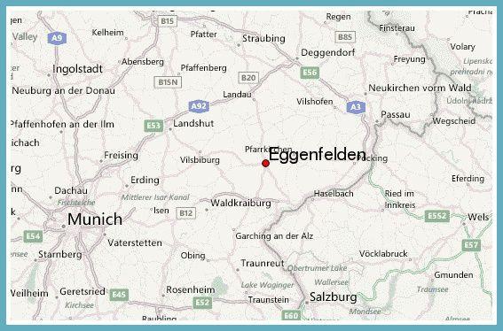 Eggenfelden map Lower BavariaNiederbayern Germany Pinterest