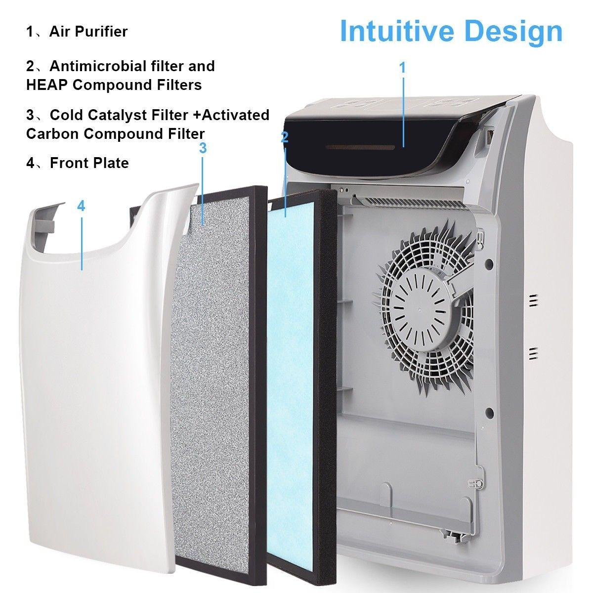 HEPA Air Purifier Powerful Air Cleaner Hepa air purifier