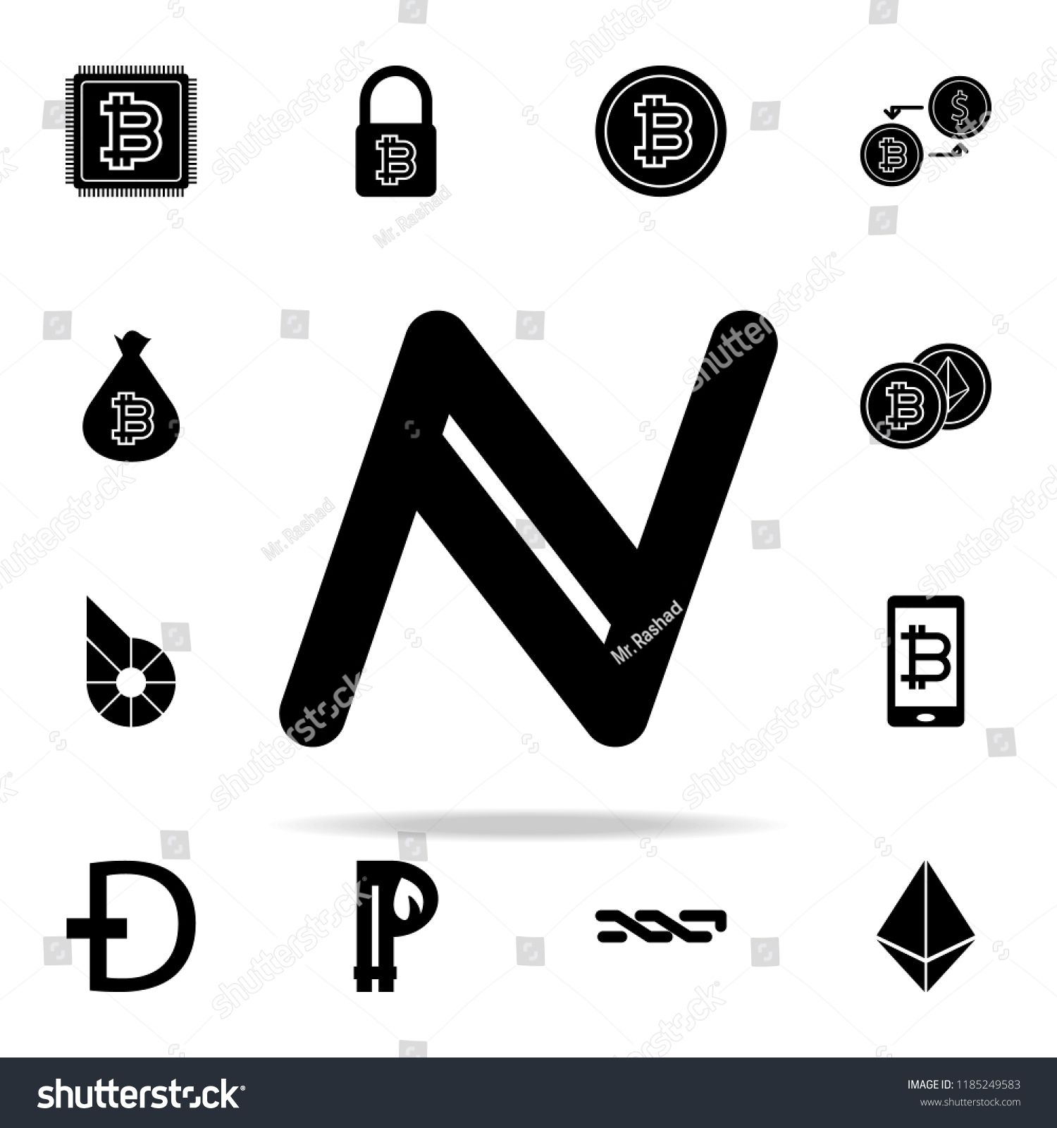 Namecoin Icon Crypto Currency Icons Universal Set For Web And Mobile Sponsored Sponsored Crypto Currency Na Brochure Template Crypto Currencies Brochure