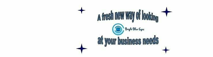 Working on my new business website today. Temporary site is available www.brightblueeyes.co.uk