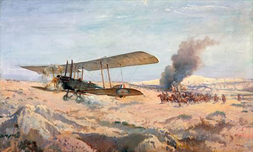 Francis Hubert (Frank) McNamara, Gaza, WW1, 20 March 1917.