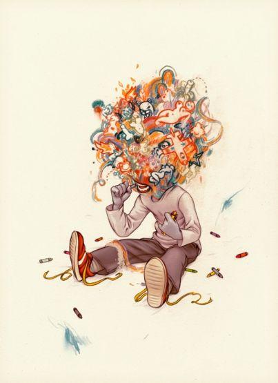 James Jean - Crayoneater