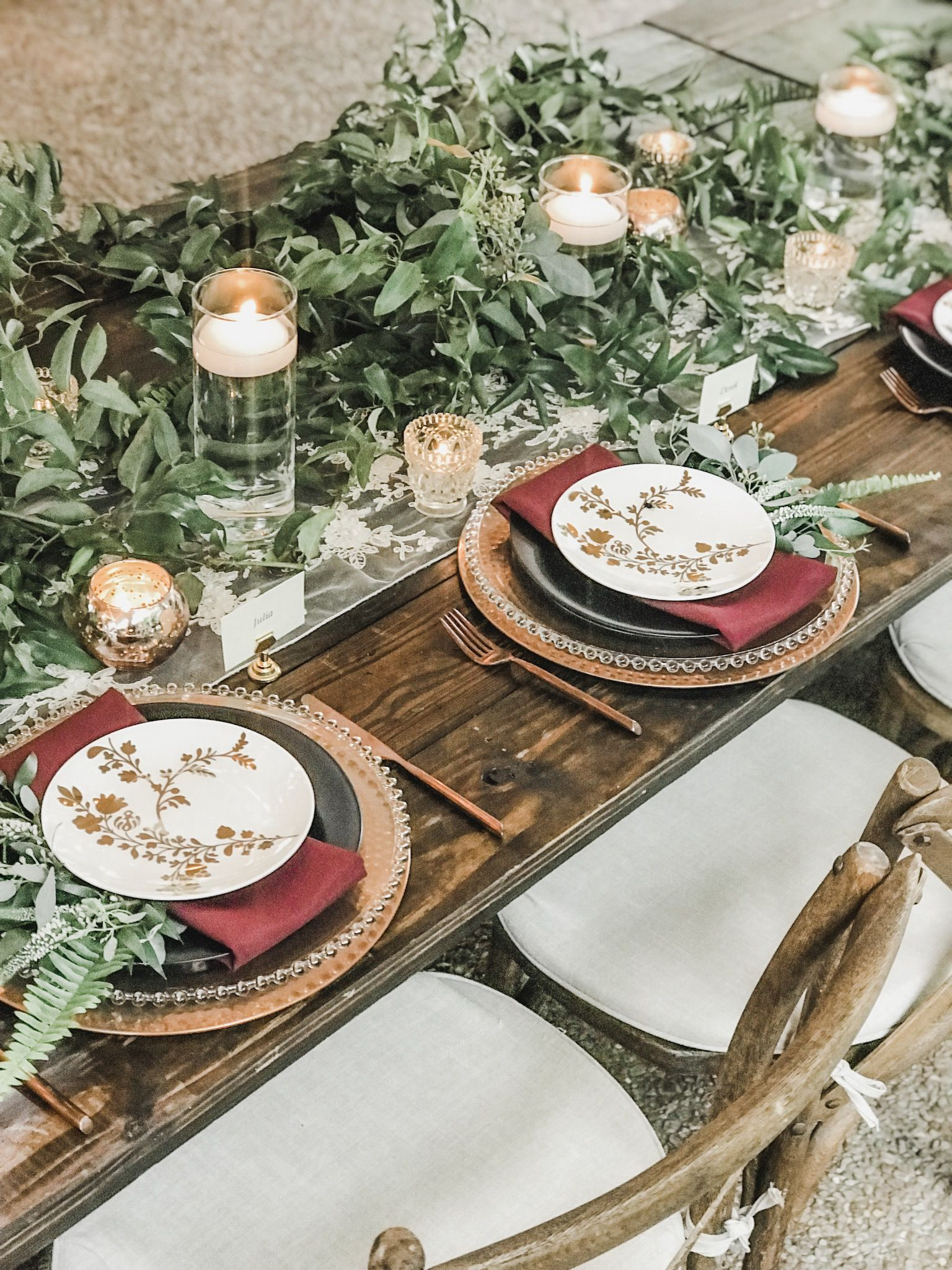 3 Budget-Friendly Tips for A Modern Rustic Wedding ...