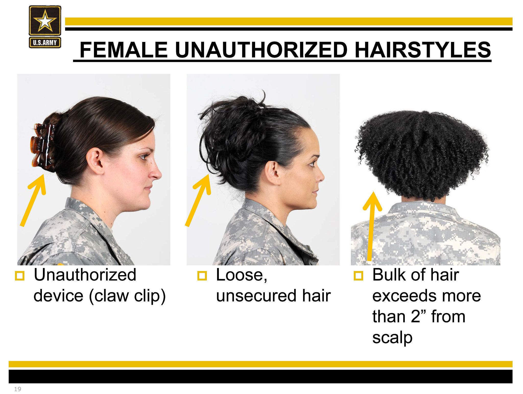 Is Natural Hair Against Us Army Regulations