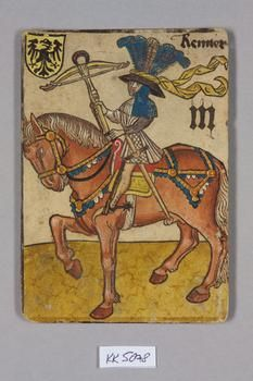 """Renner [?] Deutschland [Germany], """"Hofämterspiel"""" für König Ladislaus """"Postumus"""", c. 1455"""
