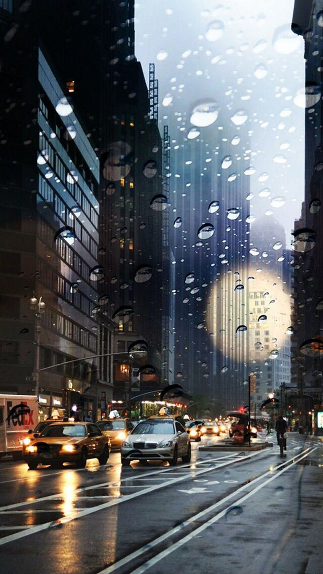 City Rain iPhone wallpaper | iPhoneWallpapers | Iphone wallpaper rain, Iphone wallpaper travel ...