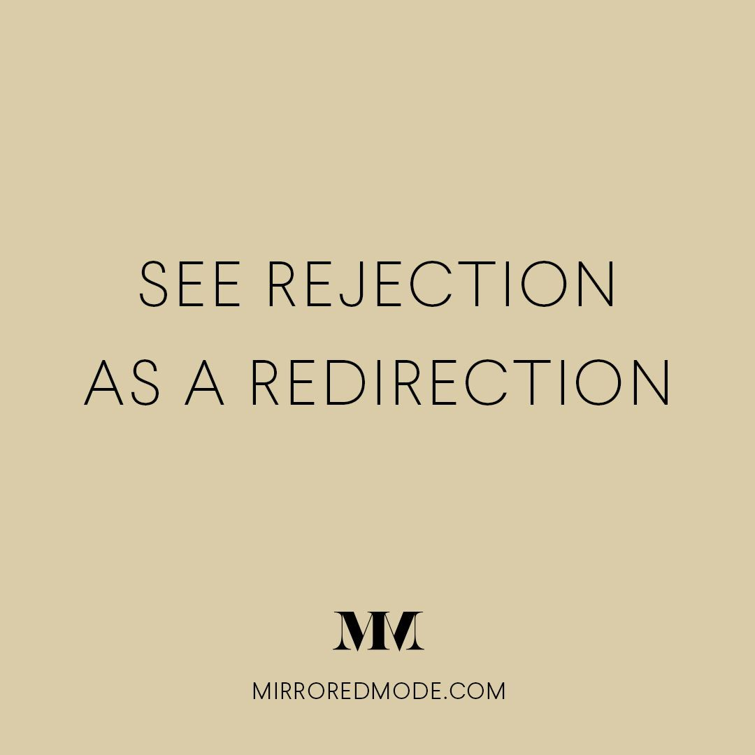 See Rejection As A Redirection, Life Quotes, Inspirational