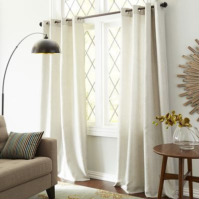 Shimmer Grommet Silver Curtain Silver Curtains Curtains