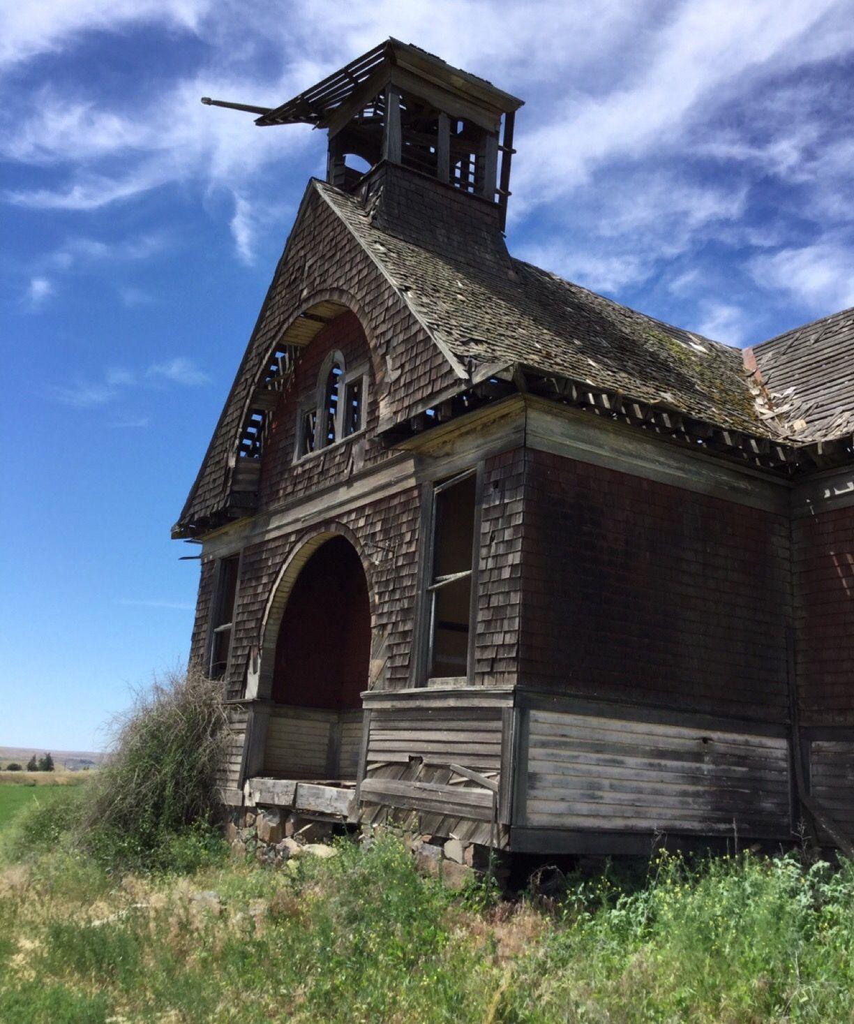 Govan, WA (ghost Town), Abandoned School Last Used 1942