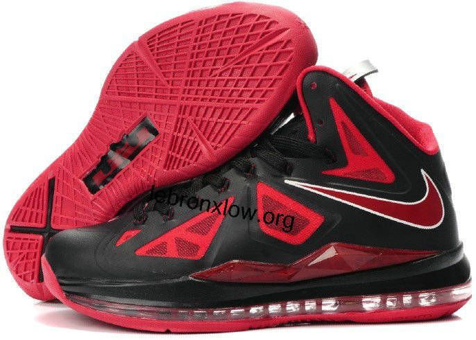 Women Lebron X Black Red Bred For Cheap  12c3670969