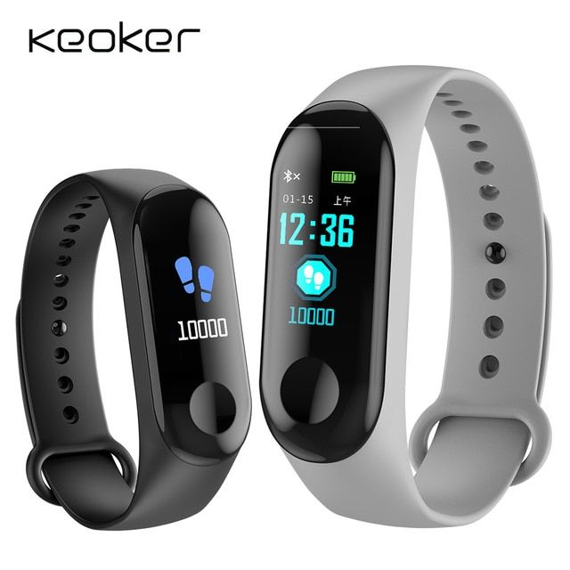 W 3 Smart Watch Waterproof Fitness Bracelet Blood Pressure