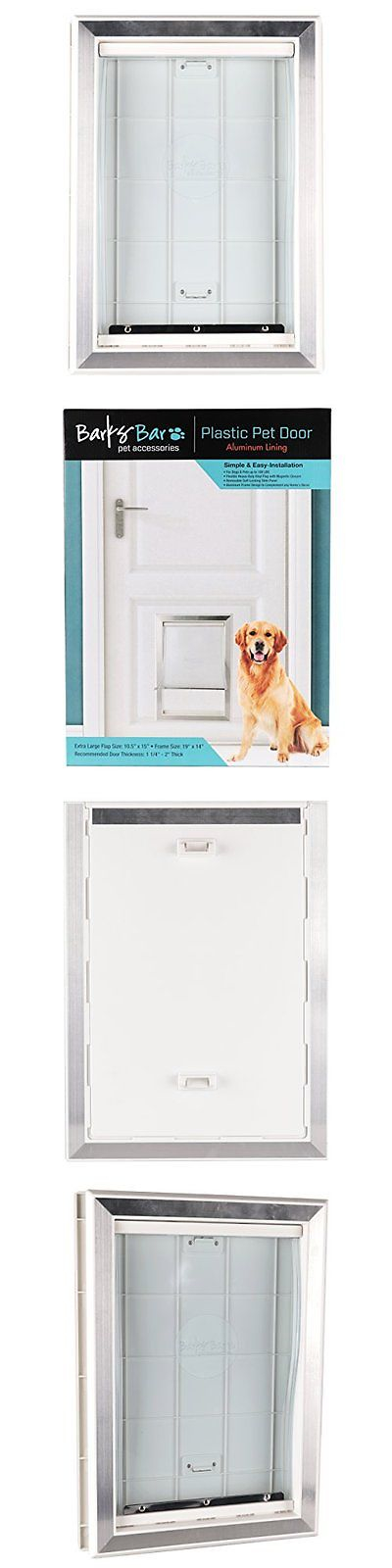 Doors And Flaps 116379 Pet Door Large Frame Easy Install Dog Flap