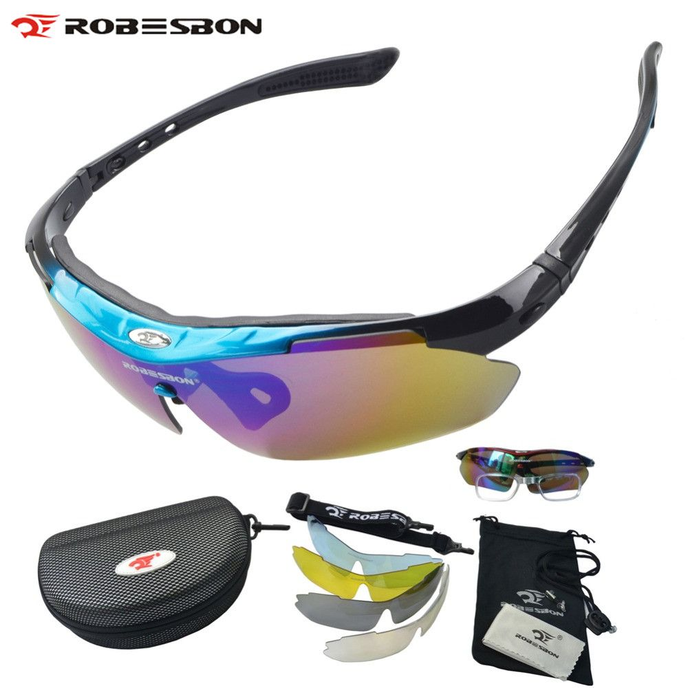 20b26481381 ROBESBON MTB Bicycle Glasses Riding Bike Sports Eyewear Racing Glasses Men  Women Goggle Polarized Oculos Cycling Glasses Review