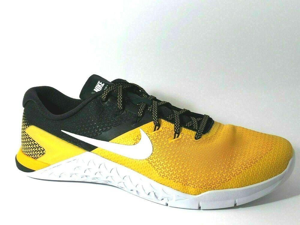 el más baratas aliexpress profesional de venta caliente Nike Metcon 4 Mens Shoes 14 University Gold Black AH7455-701 #Nike #Casual    Cross training shoes mens, Cross training shoes, Nike metcon