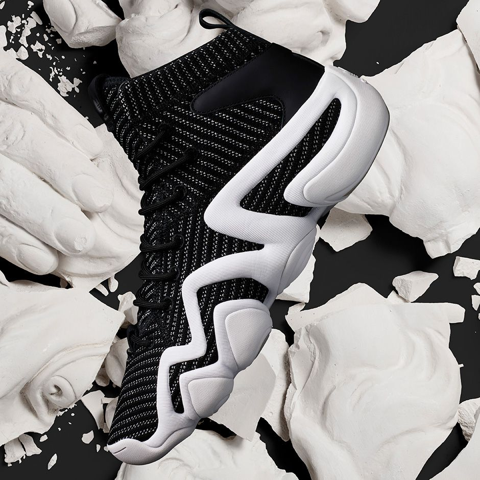 super popular c0f69 769b9 The adidas Crazy 8 ADV Primeknit Black (Style Code BY4423) will release on  August 11th for 150 featuring a new take on an old Kobe Bryant design.  More
