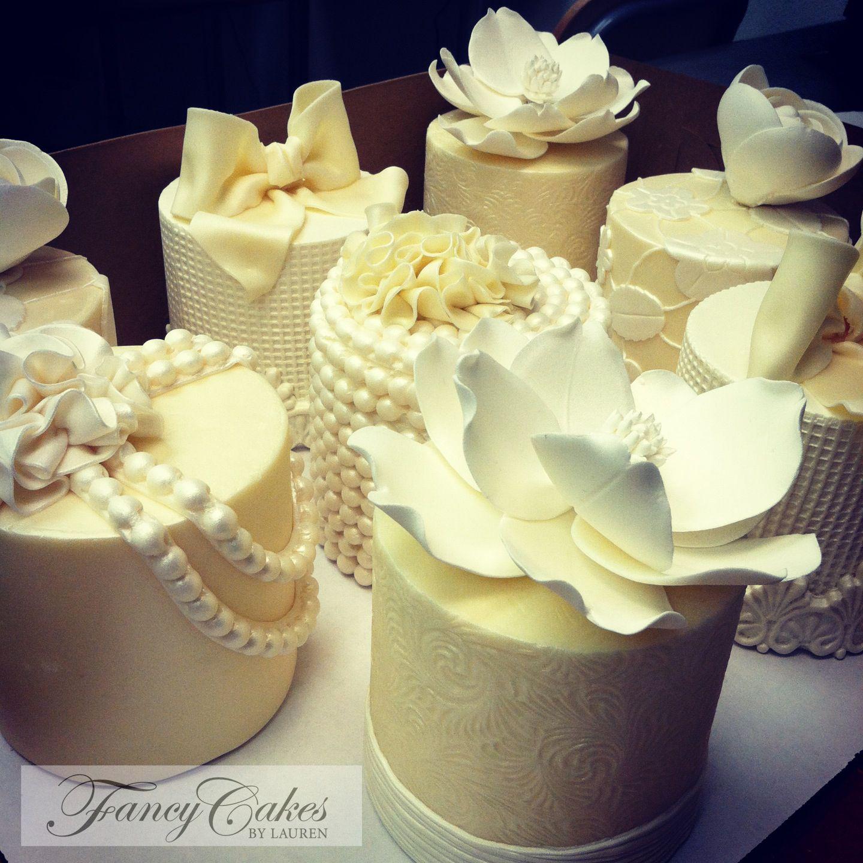 Fabulous Mini Cakes | Wedding Cakes by Lauren | Pinterest | Mini ...
