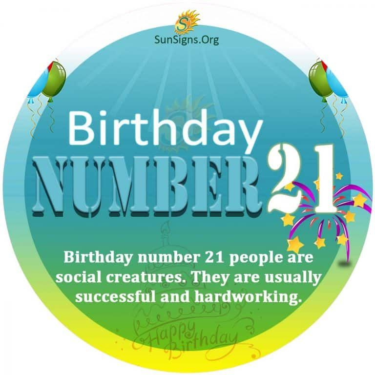 21 numerology day