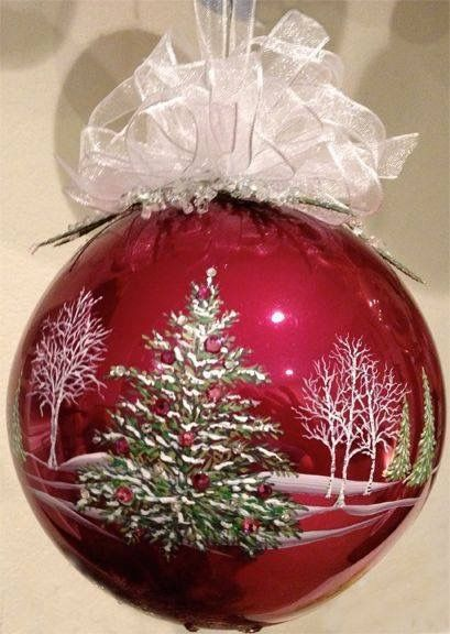 Pin by elaine mcmillen on holidays pinterest ornament christmas christmas4u glass ornamentshandpainted christmas ornamentshand painted solutioingenieria Gallery