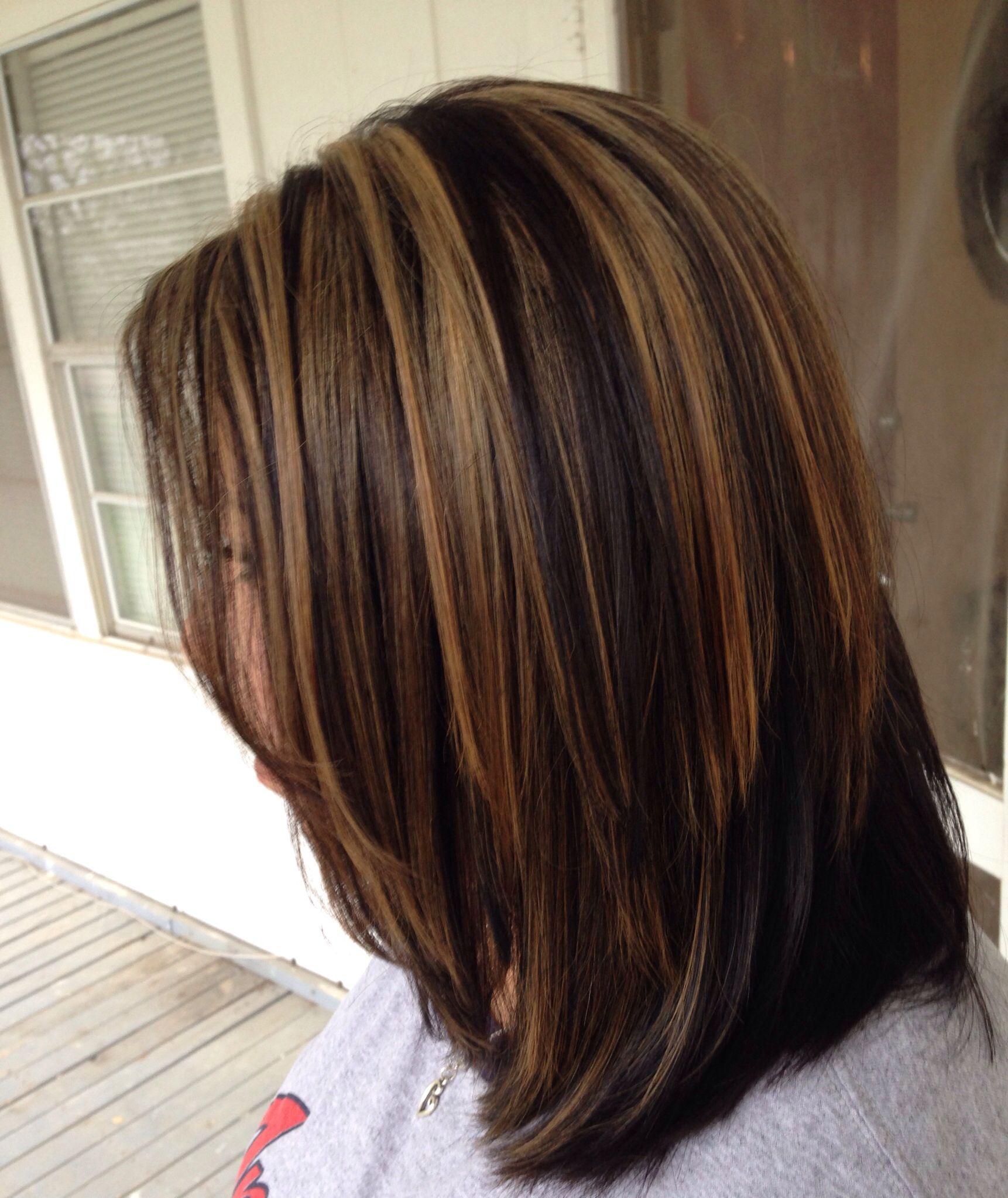 Carmel Highlights Hair Carmel Hair Color Hair Color
