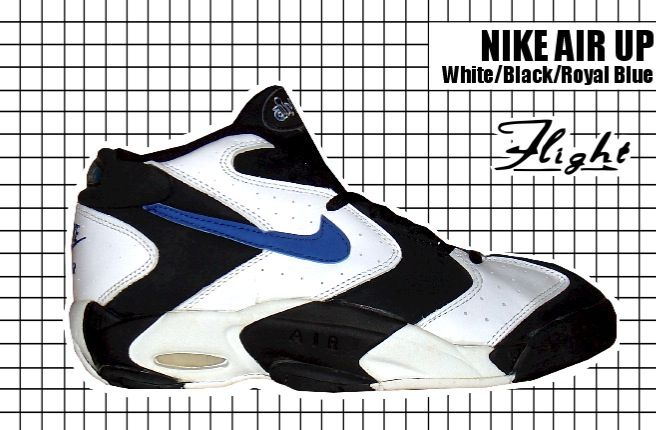 reputable site 4d1a1 d87af The Unofficial Penny Hardaway - Nike Air Up in Black, White and Royal -  circa 1994