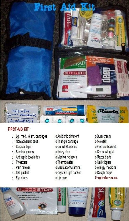 Bug Out Bag First Aid Kit - Preppers Survive