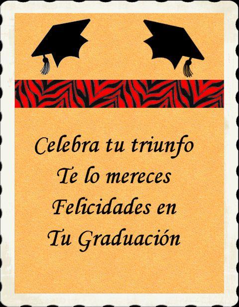 Graduacion Felicidades Por Tu Graduacion Felicitaciones